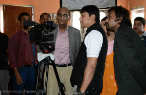 Dr-Ranen-Sarma-(behind-the-camera)-with-Munna-Ahmed
