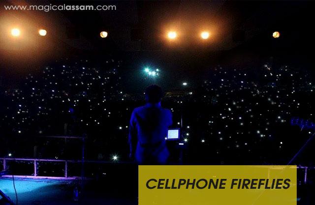 Cellphone-fireflies-papon-bihu-show