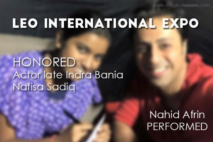 nahid-afrin-perfomred-leo-expo