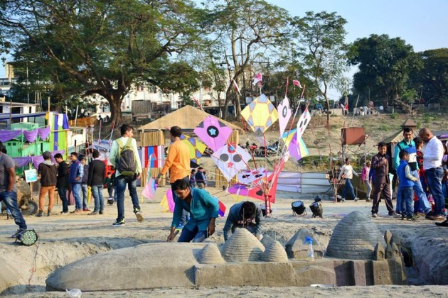 Jeevan Kite and River Festival