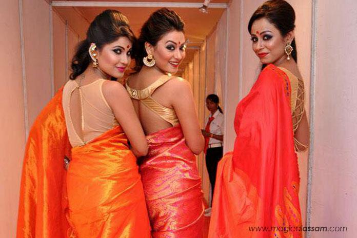saraswati-puja-assamese-girls