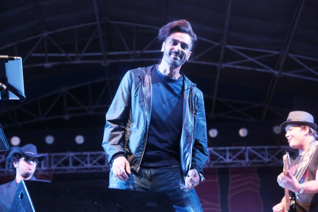 Arjun Rampal at Bacardi NH7 Weekender 2015, Shillong on 23rd Oct'15