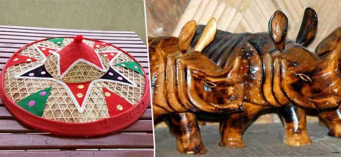 things-to-buy-in-guwahati-rhino-statue