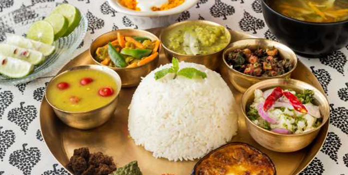 Authentic Assamese food in Guwahati