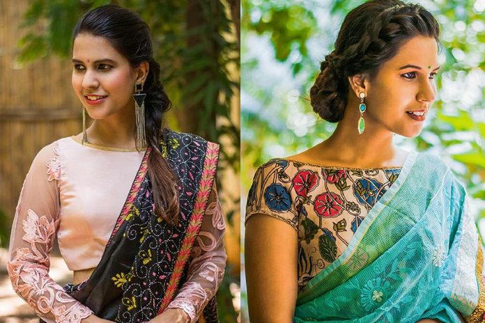 blouse neck design