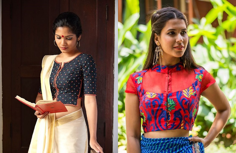 16 Awesome Fancy Blouse Designs For Different Sarees Magical Assam