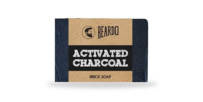 Beardo Activated Charcoal Brick Soap for Men