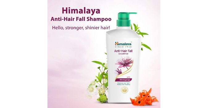 Himalaya anti-hair fall shampoo with Bringharaj