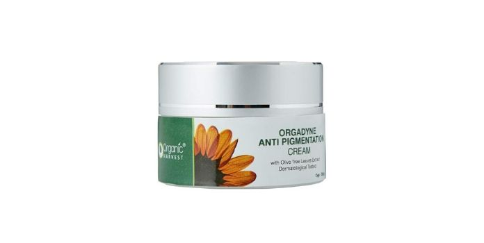 Organic harvest orgadyne anti-pigmentation cream