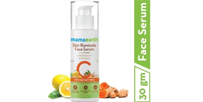 Mamaearth best face serum