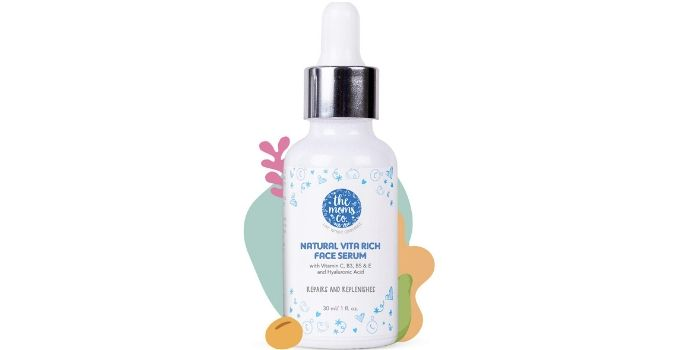 The Moms Co. Natural Vitamin C Hyaluronic Acid Face Serum